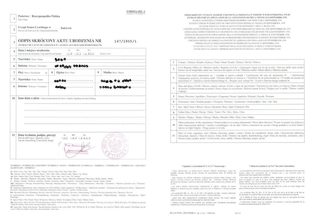 Tolle Vorlage Für Geburtsurkunde Fotos - Entry Level Resume Vorlagen ...